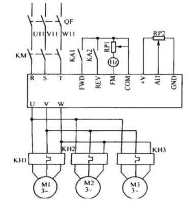 变频器同时一拖多台电机时,这6大问题一定要知道!